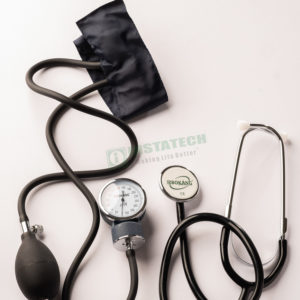 Aneroid Blood Pressure Apparatus with Stetoscope